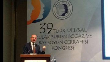 39. Türk Ulusal Kulak Burun Boğaz ve Baş Boyun Cerrahisi Kongresi
