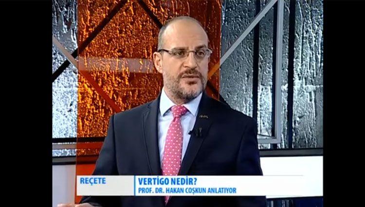 Vertigo nedir? | Prof.Dr. H. Hakan COŞKUN | Reçete Programı